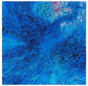 Determination. Freedom - Blue Bird No.1 by Ren Sihong contemporary artwork