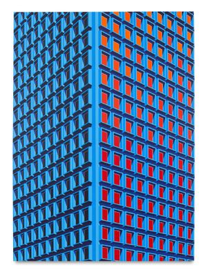 909 3rd Ave, NYC (Large Version) by Daniel Rich contemporary artwork