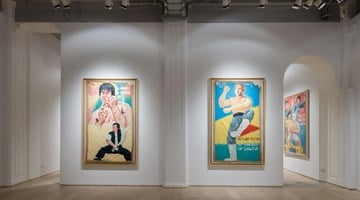 Contemporary art exhibition, Group Exhibition, KUNG FU IN AFRICA: Golden Age Hand-Painted Movie Posters from Ghana (1985-1999) at Hanart TZ Gallery, Hong Kong, SAR, China