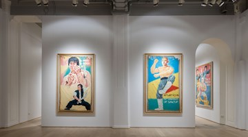 Contemporary art exhibition, Group Exhibition, KUNG FU IN AFRICA: Golden Age Hand-Painted Movie Posters from Ghana (1985-1999) at Hanart TZ Gallery, Hong Kong