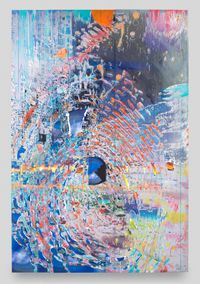 Imprint Apparition by Sarah Sze contemporary artwork painting