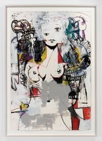 Haunted By Demons by George Condo contemporary artwork painting, works on paper, drawing