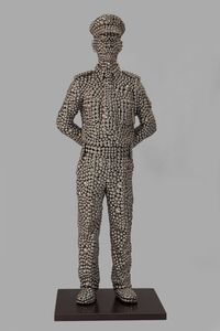Watch Man by Valay Shende contemporary artwork sculpture