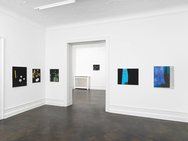 Exhibition view: Mayo Thompson, Go to the window, Galerie Buchholz, Berlin (28. June–17 August 2019). Courtesy Galerie Buchholz Berlin/Cologne/New York.
