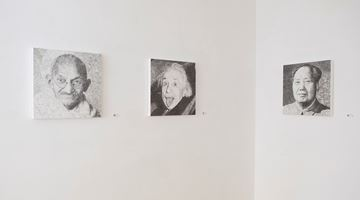Contemporary art exhibition, Keita Sagaki, Hystorical Portraits at Micheko Galerie, Munich, Germany