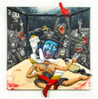 THE BELT OF HIPPOLYTA by Sebastian Chaumeton contemporary artwork painting