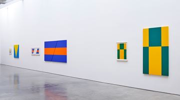 Contemporary art exhibition, Carmen Herrera, Painting in Process at Lisson Gallery, West 24th Street, New York
