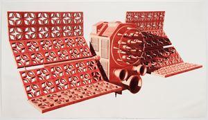 Satélite de Barro Rojo Uno by Dagoberto Rodríguez contemporary artwork
