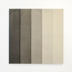 Black Watercolour Painting by Simon Morris contemporary artwork