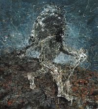 The Lost One No.4 by He Gong contemporary artwork painting