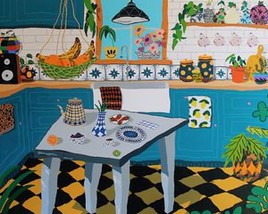 Breakfast is Ready by ANDREW COOPER contemporary artwork