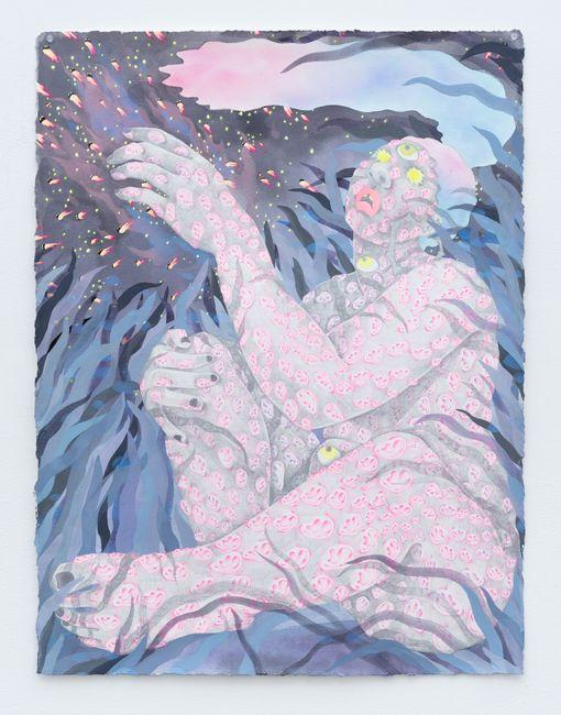 Shadow Toucher by Amaryllis DeJesus Moleski contemporary artwork