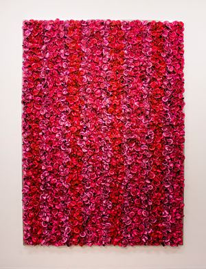 Pink on Pink by Dani Marti contemporary artwork