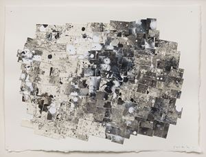 Broken Grid VIII by Jack Whitten contemporary artwork
