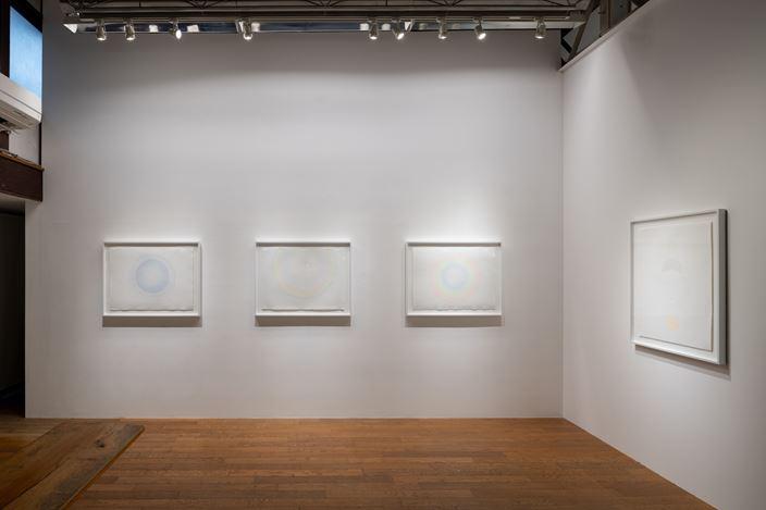 Exhibition view: Mariko Mori,Central, SCAI The Bathhouse, Tokyo (11 September–17 October 2020).Photo by Nobutada Omote. Courtesy the artists and SCAI THE BATHHOUSE.