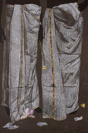 Thaamara (Lotus) by Devi Seetharam contemporary artwork