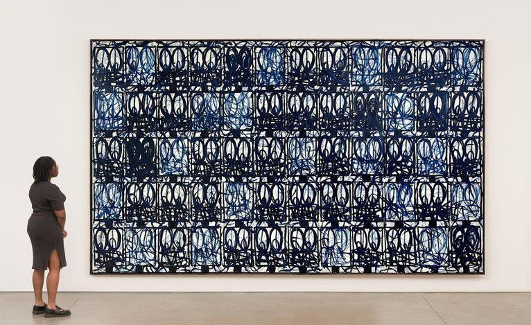 Contemporary art exhibition, Rashid Johnson, Black and Blue at David Kordansky Gallery, Los Angeles, USA