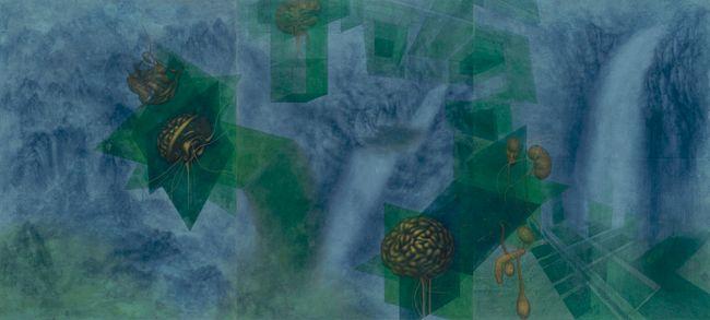 Unstable Dimension by Eunsil Lee contemporary artwork