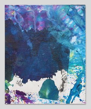 Nyotaku-Bottle Crash 01 by Shozo Shimamoto contemporary artwork