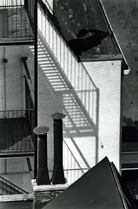 Chimney, MacDougal Alley by André Kertész contemporary artwork photography