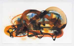 Relic 3 by Manisha Parekh contemporary artwork works on paper, drawing