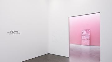 Contemporary art exhibition, Wael Shawky, The Gulf Project Camp at Lisson Gallery, West 24th Street, New York