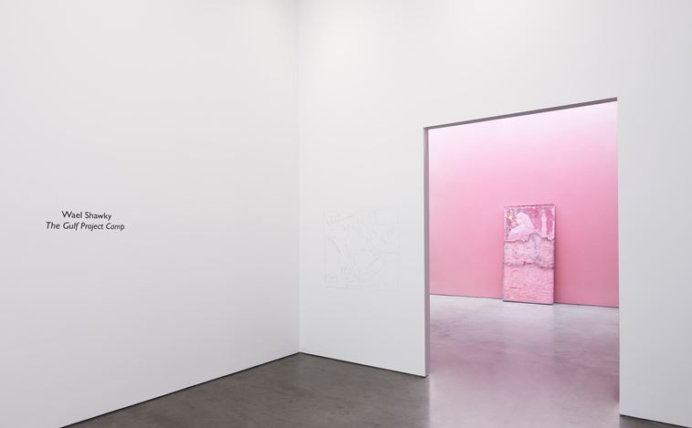 Exhibition view: Wael Shawky, The Gulf Project Camp, Lisson Gallery, New York (13 September–19 October 2019). Courtesy Lisson Gallery.