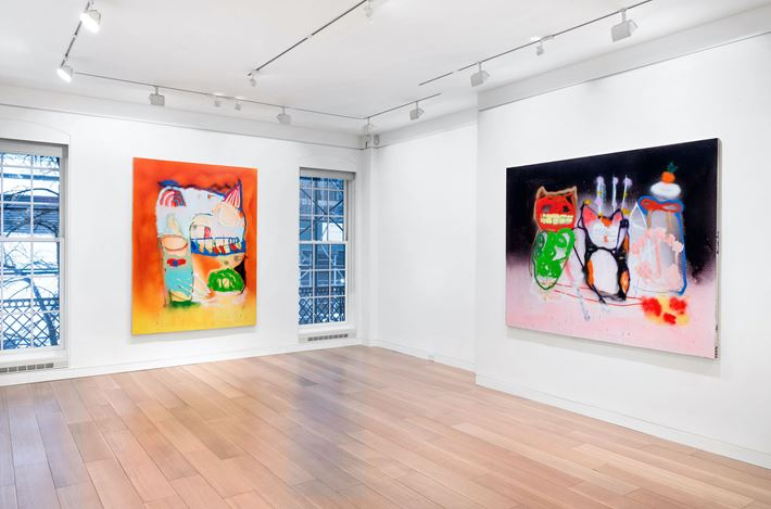Exhibition view: Marco Pariani, Cheim & Read, New York (19 February–30 April 2021). Courtesy Cheim & Read.