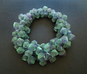 Green Cubes by Mariko Kusumoto contemporary artwork
