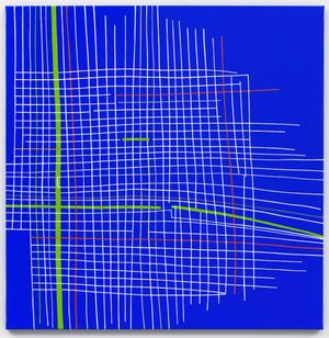 Drawing Pattern by Bart Stolle contemporary artwork