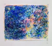 Entrance to Thought by Rie Ono contemporary artwork painting, works on paper