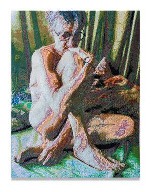 Thinker by Frances Goodman contemporary artwork