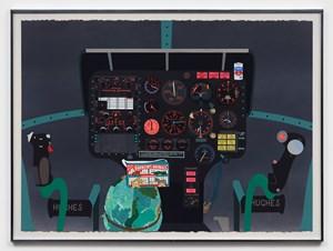 Concerning Vietnam: Hughes OH-6 Cayuse, Cockpit (I) by Matthew Brannon contemporary artwork