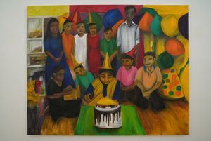 Anamoy's Birthday by Aban Raza contemporary artwork