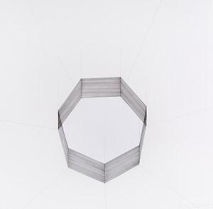 White Septagon by Jiieh G Hur contemporary artwork