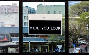 MADE YOU LOOK. by Elisabeth Pointon contemporary artwork