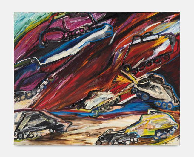 Gulfwar II by Jacqueline de Jong contemporary artwork