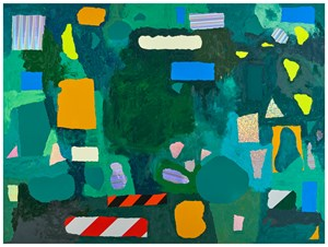 ZONES (Tennis court)  #1 區塊(網球場)#1 by Teppei Kaneuji contemporary artwork