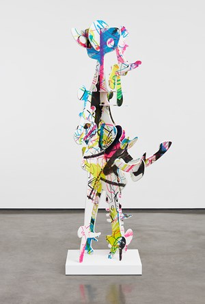 Buzz LightSMEAR by Aaron Curry contemporary artwork