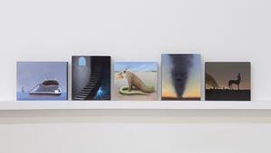 The Kami, A Bao A qu, The Chimera, A Jinn, The Centaur by Juan Ford contemporary artwork