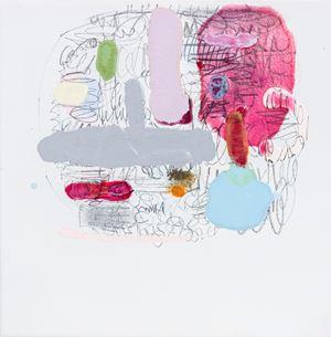 Rose Plans (Notes) by Marie Le Lievre contemporary artwork