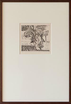 Landscape I by Mrinalini Mukherjee contemporary artwork print