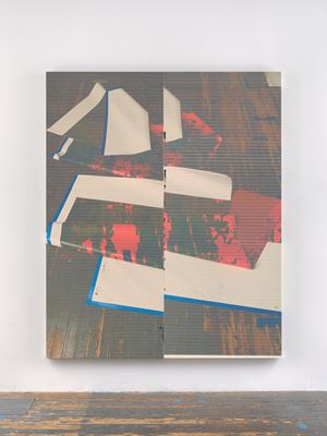 Untitled by Wade Guyton contemporary artwork