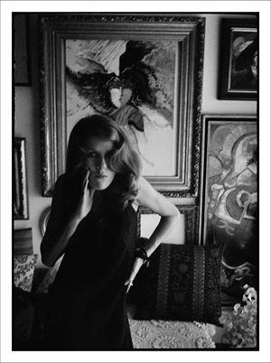 ANA L., Alfragide, Novembro 1968 by Julião Sarmento contemporary artwork works on paper, drawing