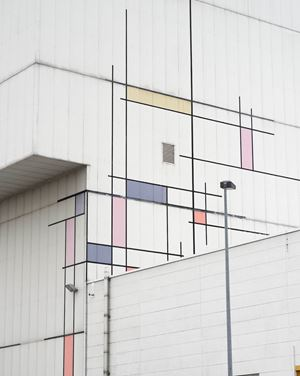 untitled (Mondrian) by Joachim Brohm contemporary artwork
