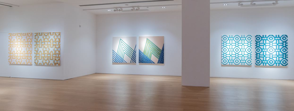 Exhibition view: Xu Qu, Straight Line, Tang Contemporary Art, Hong Kong (7 January–10 February 2021). Courtesy Tang Contemporary Art.