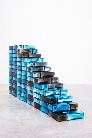 Stairs to Paradise by Jean-Michel Othoniel contemporary artwork