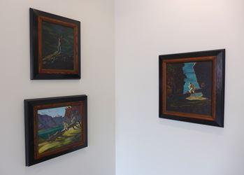 Exhibition view: Jason Greig, Star Tissue, Hamish McKay Gallery, Wellington (14 July–5 August 2017). Courtesy Hamish McKay Gallery.
