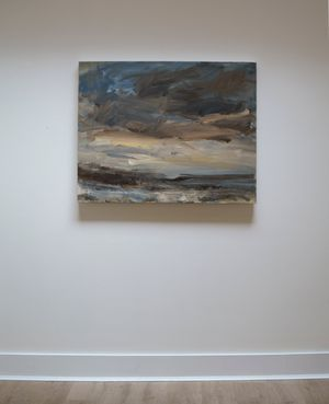 Towards the Sea, End of the Day by Louise Balaam contemporary artwork painting, works on paper