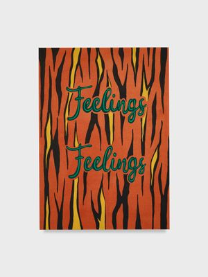 Untitled (Feelings Feelings) by Joel Mesler contemporary artwork